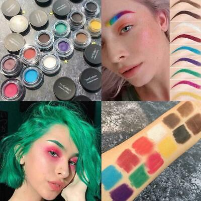 12 Colors Professional Makeup Waterproof Eyebrow Definition Cream Gel Eye B T6V6