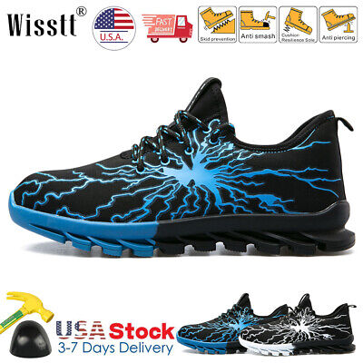 Indestructible Bulletproof Safety Work Shoes Steel Toe Boots Lightning Sneakers