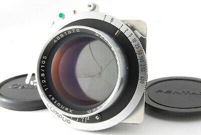 🔴VERY RARE!EXC+++++🔴 SCHNEIDER KREUZNACH XENOTAR 105mm f/2.8 LENS FROM JAPAN