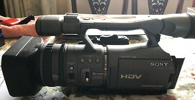 Sony camcorder HDR FX7- good used condition with bag, tripod, charger,2 batt