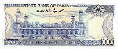 Pakistan  1000  Rupees  ND.1988  P 43  Series  BH  Uncirculated Banknote HA