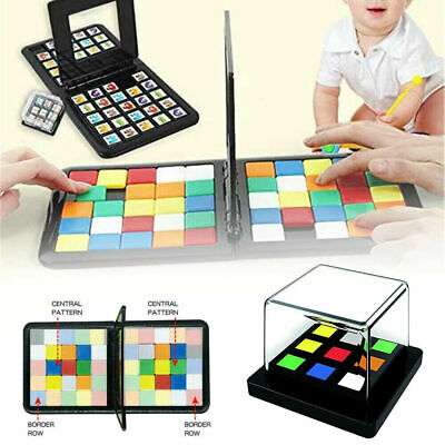 3D Puzzle Race Cube Board Game Education Toy Parent-Child Double Speed Game Gift