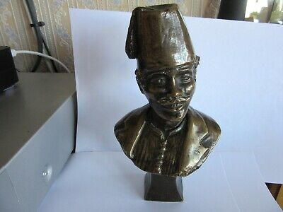 "Beautiful Rare 1902 Signed Bronze Sculpture Figure ""General Gordon of Khartoum"""