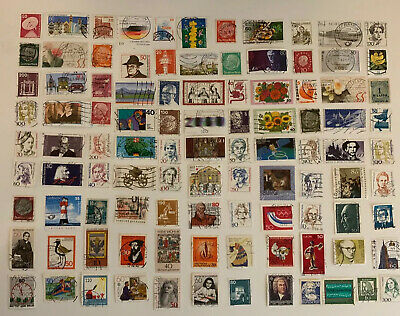 100 German Postage Stamps. A Mixed Bag. All Different All Used. Germany SJ183