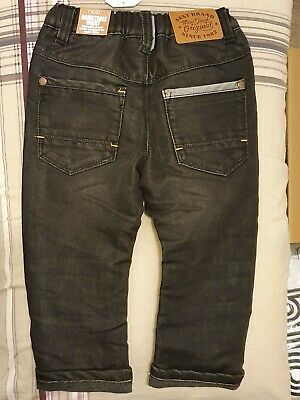 BNWT Next Boys Black Jeans Age 1.5-2