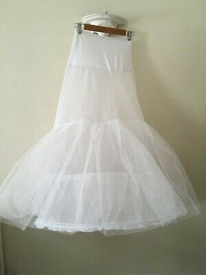 Quality 2 Ring  LOng Hoop Petticoat  With Net Layers Size S/ M Wedding / Theatre