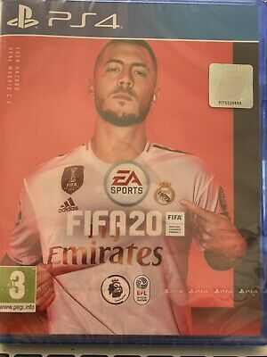 ps4 fifa 20 game brand new sealed