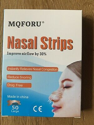 50 Patch Nasal Anti Ronflement Large