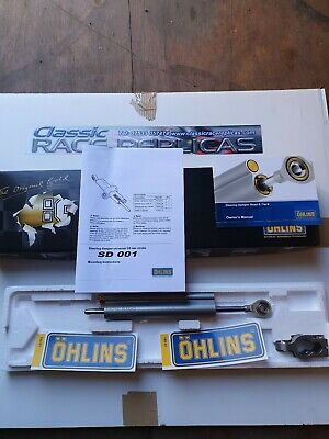 Ohlins SD001 SD 001 SD-001, Road & Track 68mm steering damper, Universal Fitment