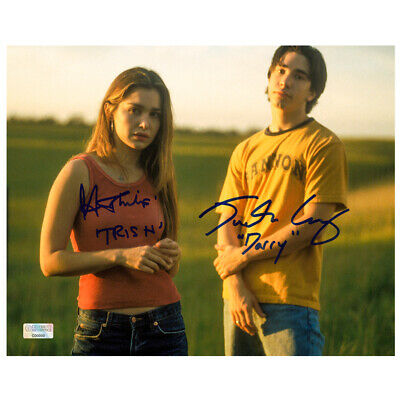 Justin Long, Gina Philips Autographed Jeepers Creepers 8×10 Scene Photo