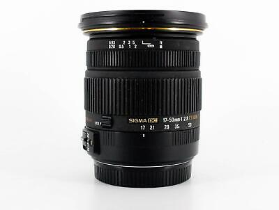 Sigma 17-50mm f/2.8 EX DC OS HSM, Canon EF-S Fit (SKU:915924)