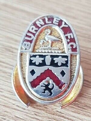 Rare Button Hole Burnley Football Supporters Pin Badge