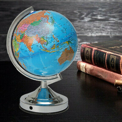 AU Illuminated World Globe Map Earth Geography Educational Toys Gift with Stand