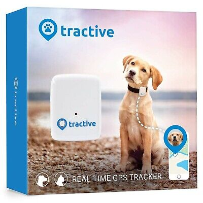 Tractive Dog GPS Tracker –Lightweight and waterproof dog tracking device with...