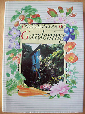 Encyclopedia Of Gardening Hardback Book