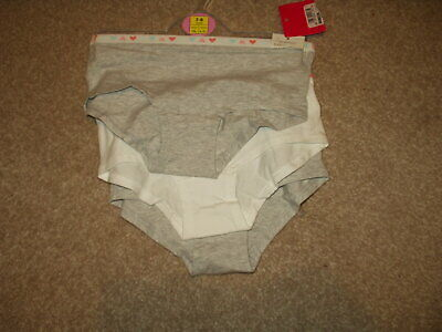 Girls Pants X 3 Pairs. Age 7/8 Yrs. Cotton. Marks & Spencer. Bnwt