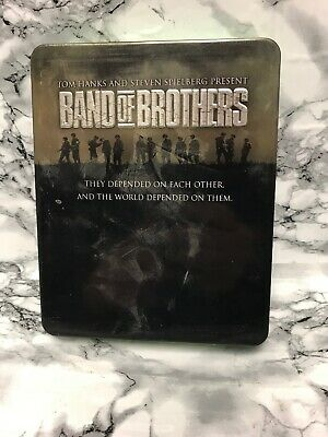 Band Of Brothers (Bluray, 2002, 6-Disc Set, Tin)