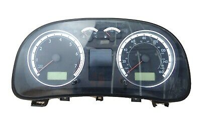 VW Golf Mk4 Bora Sport Dash Clock Speedo Cluster Computer Chrome 1J5 920 926 C