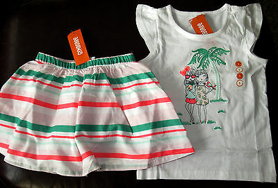 New Gymboree Island Cruise Line Cute Tropical Toucans Dress size 3T NWT