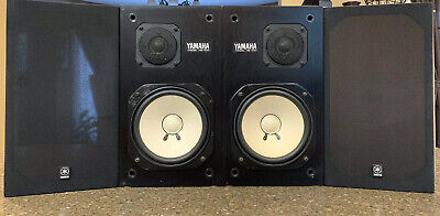 Yamaha NS-10M Studio Monitor, Left And Right,Good,Work Perfectly,#216717 L/R (G)