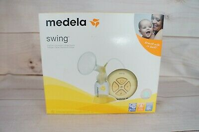 Medela Swing Single Electric Breast Pump Kit Portable Lightweight Breast Feeding