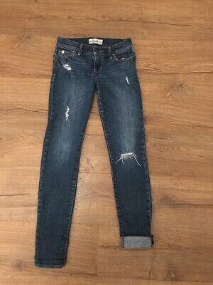 abercrombie and fitch Slim Blue Denim Jeans Age 12-14