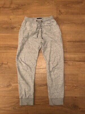 Next Slim Grey Jogging Bottoms Tracksuit Trousers Age 10