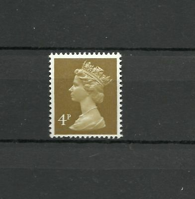 Great Britain Machin 4p FCP GA 2 Band  SG U 123 DG 40.2.1 MNH