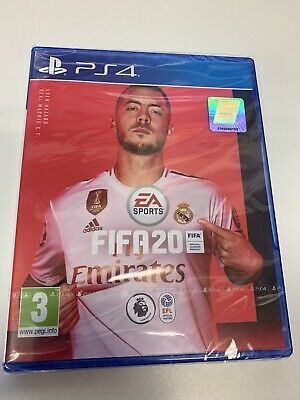 FIFA 20 - PS4 - Brand New Sealed - Tracked Postage - 99p Starting Bid - PAL UK