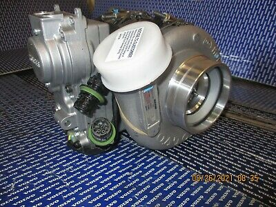 OEM Volvo Mack turbocharger D13 MP8 engine with actuator 85151094 85151095