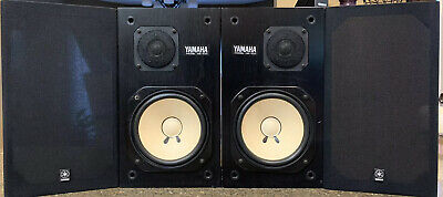 Yamaha NS-10M Studio Monitor, Left And Right,Good,Work Perfectly,#164996 L/R (G)