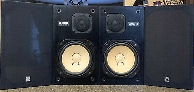 Yamaha NS-10M Studio Monitor, Left And Right,Good,Work Perfectly,#149004L/R (G)