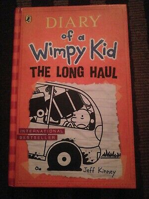 Diary Of A Wimpy Kid The Long Haul: Book 9 by Jeff Kinney (Hardback, 2014)