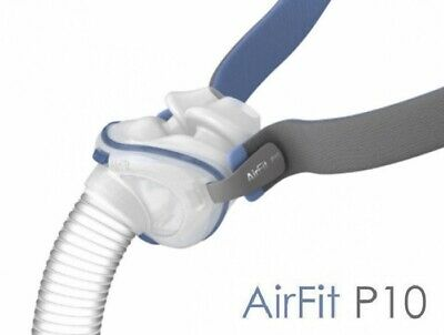 ResMed AirFit™ P10 Nasal Pillow CPAP Mask with Headgear (S-M-L)