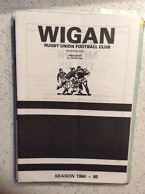 Wigan RUFC v Orrell 27th Dec 1984