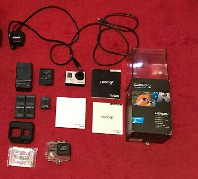 GoPro HERO3+ Black Edition 1080p video and 12MP photos, single owner.