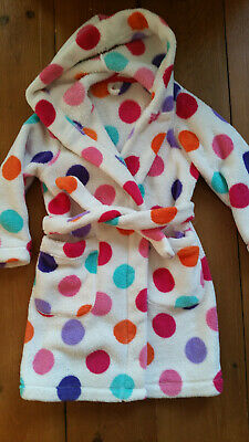M + S childs girls dressing gown age 2 - 3 years good condition