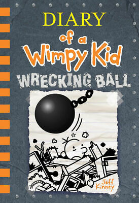 Diary of a Wimpy Kid - Wrecking Ball New Scholastic Book (Only)