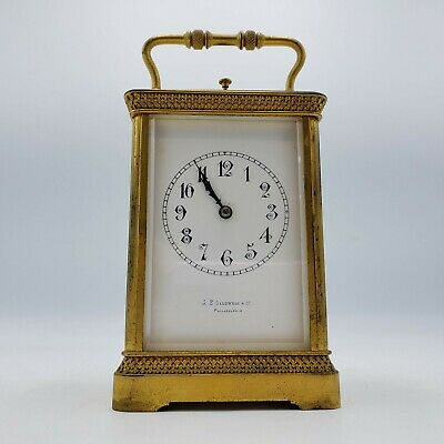 Antique Bailey, Banks and Biddle French Carriage Clock / Repeater - Large Size