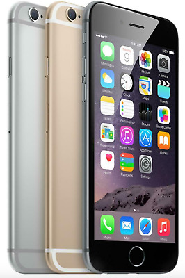 Apple iPhone 6 16gb 32gb 64gb  Factory Unlocked AT&T TMobile Sprint *NO TOUCH ID