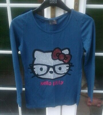 Girls Hello Kitty Long sleeve top age 13 yrs from Next
