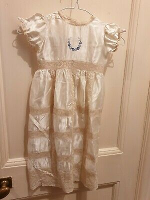 Antique Victorian /Edward Christening Gown Or Dress Finest example museum piece.