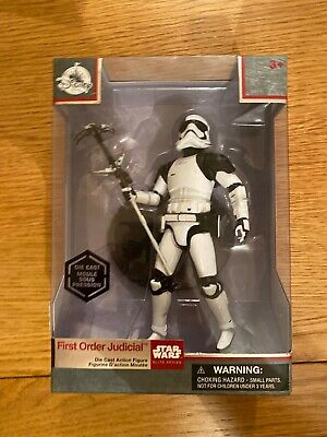 Star Wars the last jedi First Order Judicial  stormtrooper die-cast figure