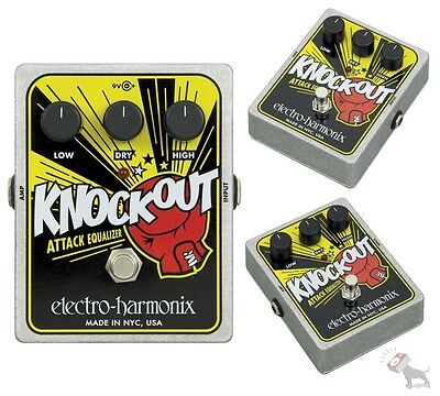 Electro Harmonix XO Knockout Attack Equalizer Guitar Bass Effects Pedal