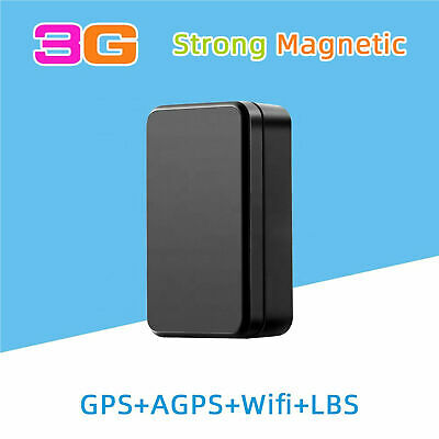 MAGNETIC GPS ASSET CAR TRACKER REAL TIME GOOGLE MAP LONG STANDBY 6000mA BATTERY