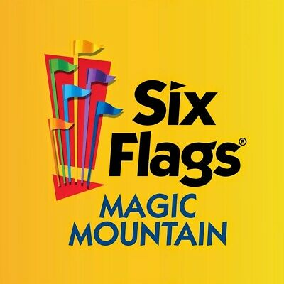 Four (4) Six Flags 1 Day Admission E-tickets good for any location.
