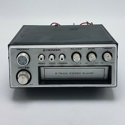 Pioneer TP-727 Car Stereo 8 Track Tape Player