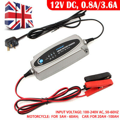 Car Smart Battery Charger & Conditioner Replace For C Multi MXS 3.8 / 5.0 12V