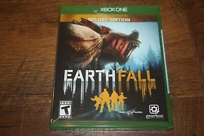 Brand New Factory Sealed Xbox One Earthfall EARTH FALL Deluxe Edition SHIP FREE