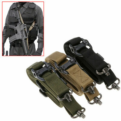 "Retro Tactical Adjust Quick Detach QD 1 or 2 Point 1.2"" Rifle Sling For Hunting"
